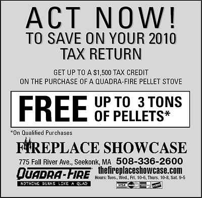 Get up to a $1,500 Tax Credit on the Purchase of a Quadra-Fire Pellet Stove