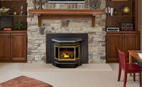 The Fireplace Showcase Pellet stove inserts in Seekonk, MA