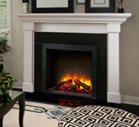 SimpliFire Built-In Electric Fireplace