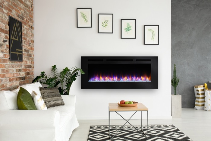 The Fireplace Showcase - Simplifire Allusion Electric Fireplaces, Seekonk, MA