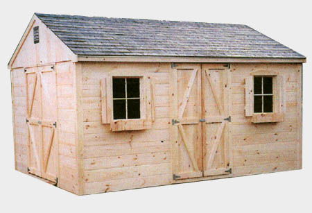 Chateau Wood Shed