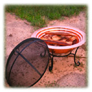 Copper Firepits