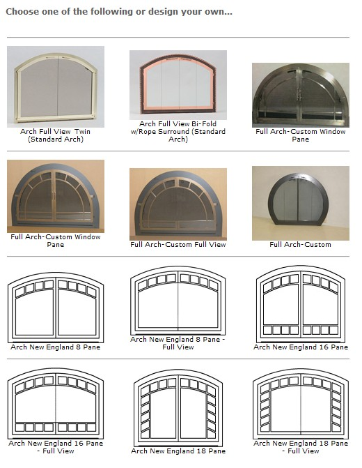 Arched Glass Fireplace Doors firpelace glass doors, ma