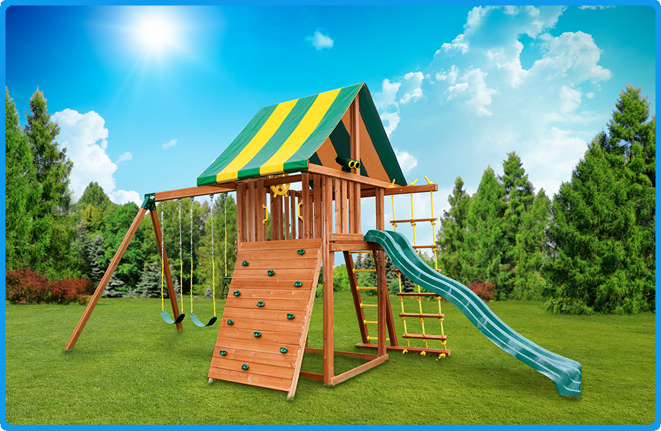 Wooden Swing Sets Adults And Kids A Form Of Physical Activity
