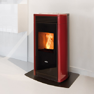 Ravelli Pellet Stoves - RV100 - The Fireplace Showcase, MA, RI