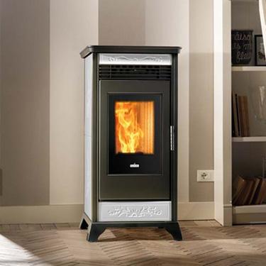 Ravelli Pellet Stoves Rv100 C The Fireplace Showcase