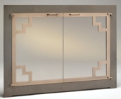 Firpelace Glass Doors Ma