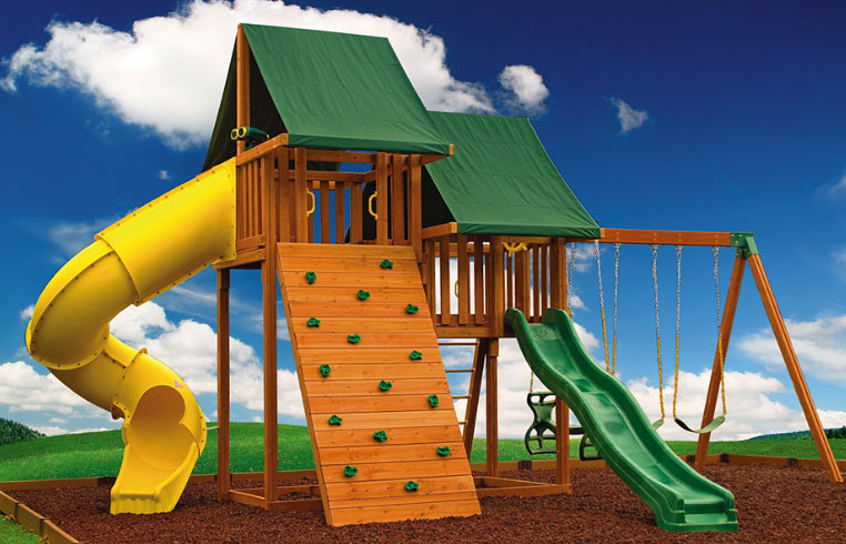 Durable And Safe Swing Sets Made Of High Quality Material And Construction