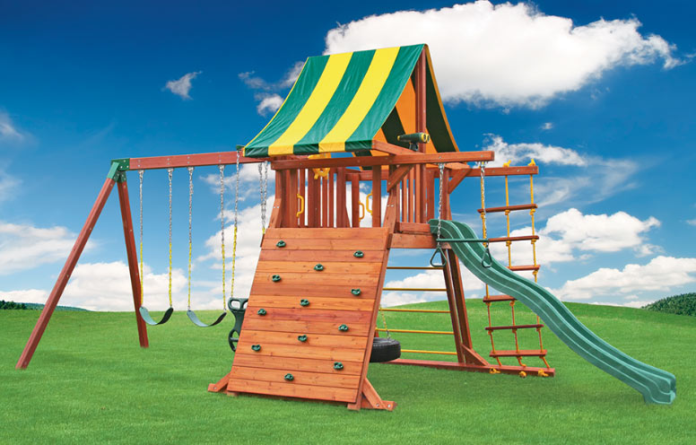 The Fireplace Showcase Supreme Swing Set