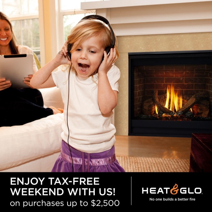 The Fireplace Showcase - Tax Free Weekend